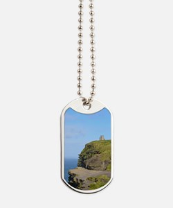 O'Brien's Tower Cliffs of Moher Dog Tags