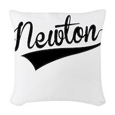 Newton, Retro, Woven Throw Pillow