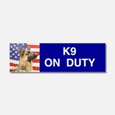 Cute K9 Car Magnet 10 x 3