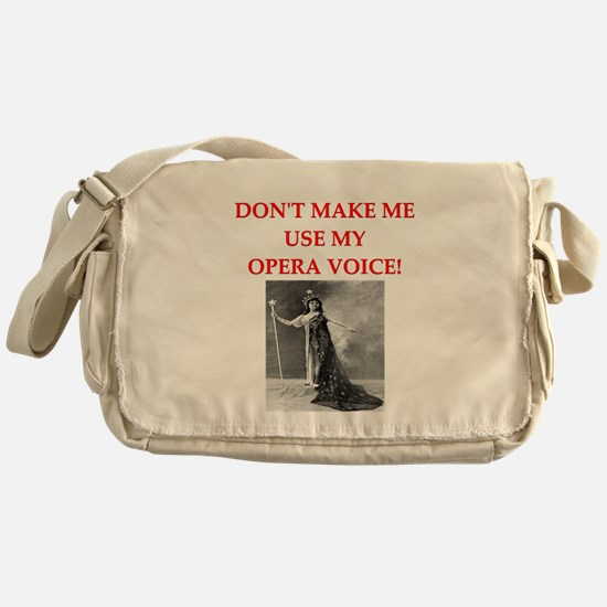 OPERA Messenger Bag
