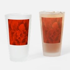 RED RED RED ROSE Drinking Glass