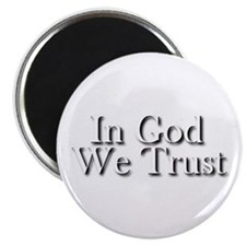"In God we trust 2.25"" Magnet (10 pack)"