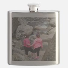 my girls on the Rocks Flask
