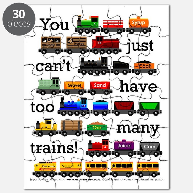 Too Many Trains Puzzle