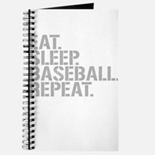 Eat Sleep Baseball Repeat Journal