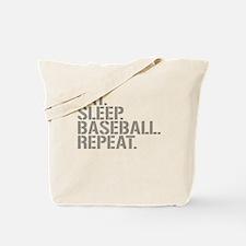Eat Sleep Baseball Repeat Tote Bag