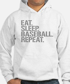 Eat Sleep Baseball Repeat Hoodie