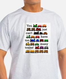 Too Many Trains T-Shirt