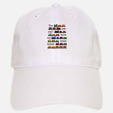 Too Many Trains Baseball Baseball Baseball Cap