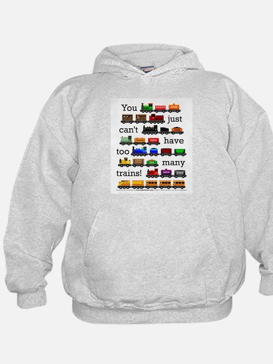 Too Many Trains Hoodie