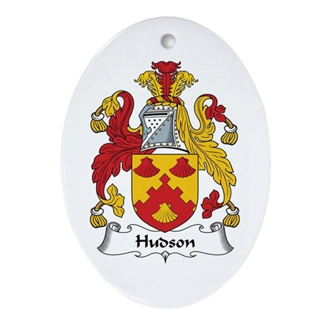 Hudson Oval Ornament
