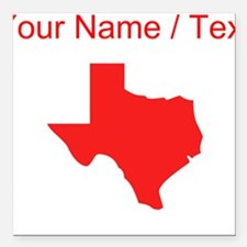 Texas Car Magnets Personalized Texas Magnetic Signs For Cars - Custom car magnets canada