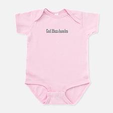 God Bless America Infant Bodysuit
