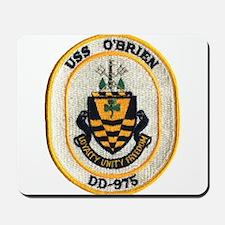 USS O'BRIEN Mousepad
