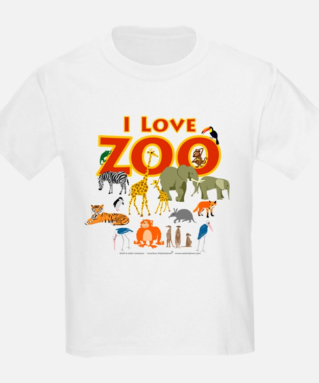 I Love Zoo T-Shirt