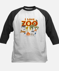 I Love Zoo Baseball Jersey
