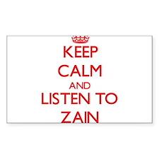 Keep Calm and Listen to Zain Decal