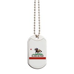 CAL-BRED AND PROUD Dog Tags