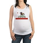 CAL-BRED AND PROUD Maternity Tank Top