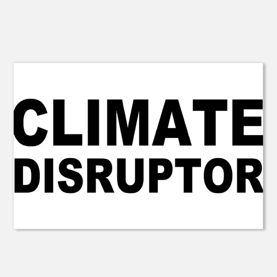 Climate Disruptor Postcards (Package of 8)