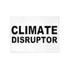 Climate Disruptor 5'x7'Area Rug