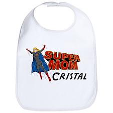 Supermom Cristal Bib