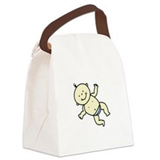 Cute Baby Canvas Lunch Bag