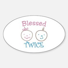 Blessed TWICE Decal
