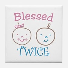 Blessed TWICE Tile Coaster