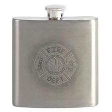 Maltese Cross Flask