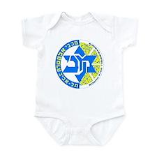 Macabbi TA Euro Champs! Infant Bodysuit