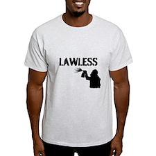 LAWLESS (BIG street graffiti artist) T-Shirt