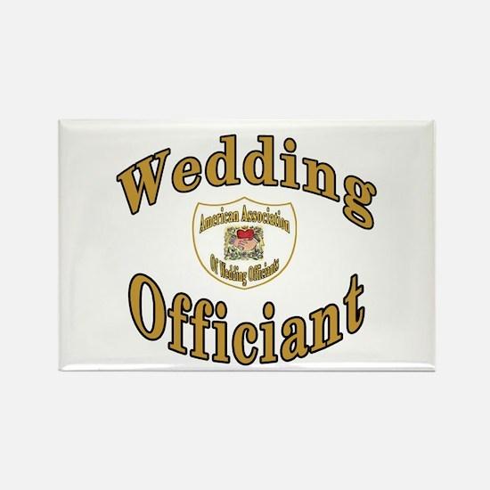 American Assn Wedding Officiants Rectangle Magnet