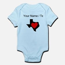 Custom Texas Heart Body Suit