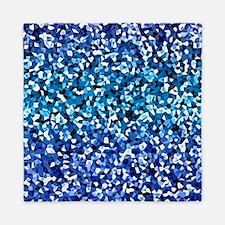 Blue Crystal Queen Duvet