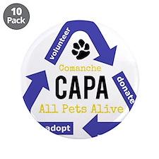 "CAPA Logo 3.5"" Button (10 pack)"