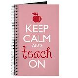 Cool teacher Journals & Spiral Notebooks