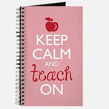Keep Calm and Teach On Journal