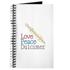 Love Peace Dulcimer Journal