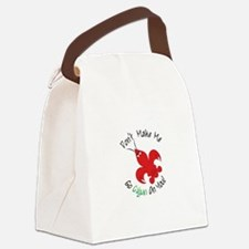Dont Make Me Go Cajun On You! Canvas Lunch Bag