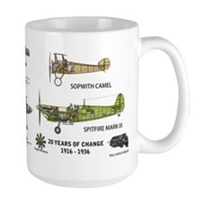 Sopwith Camel Supermarine Spitfire Coffee MugMugs