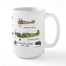 Sopwith Camel Supermarine Spitfire MugMugs