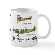 Sopwith Camel Supermarine Spitfire Mug Mugs