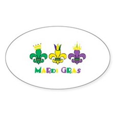 Mardi Gras Decal