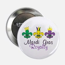 "Mardi Gras Royalty 2.25"" Button"