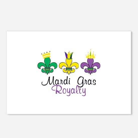 Mardi Gras Royalty Postcards (Package of 8)