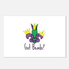 Got Beads? Postcards (Package of 8)