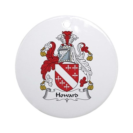 Howard Ornament (Round)