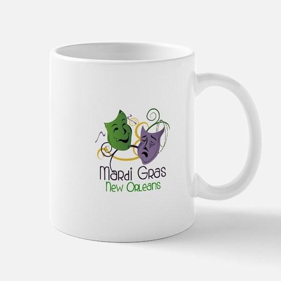 Mardi Gras New Orleans Mugs