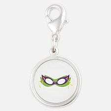 Mardi Gras Festive Mask Charms